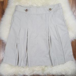 J. Crew Striped Cotton Short Skirt Size 2
